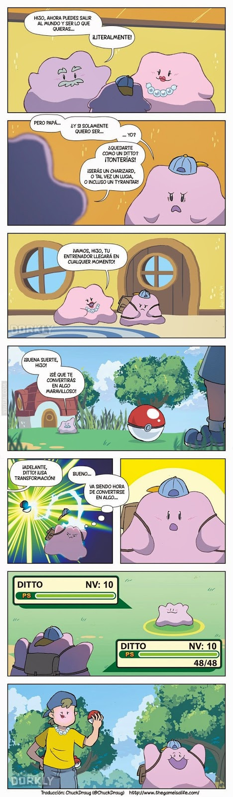 Historias Pokemon: Ditto