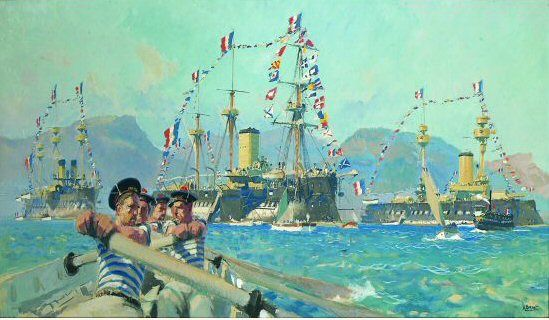 Art Contrarian Albert Brenet Marine Artist And More