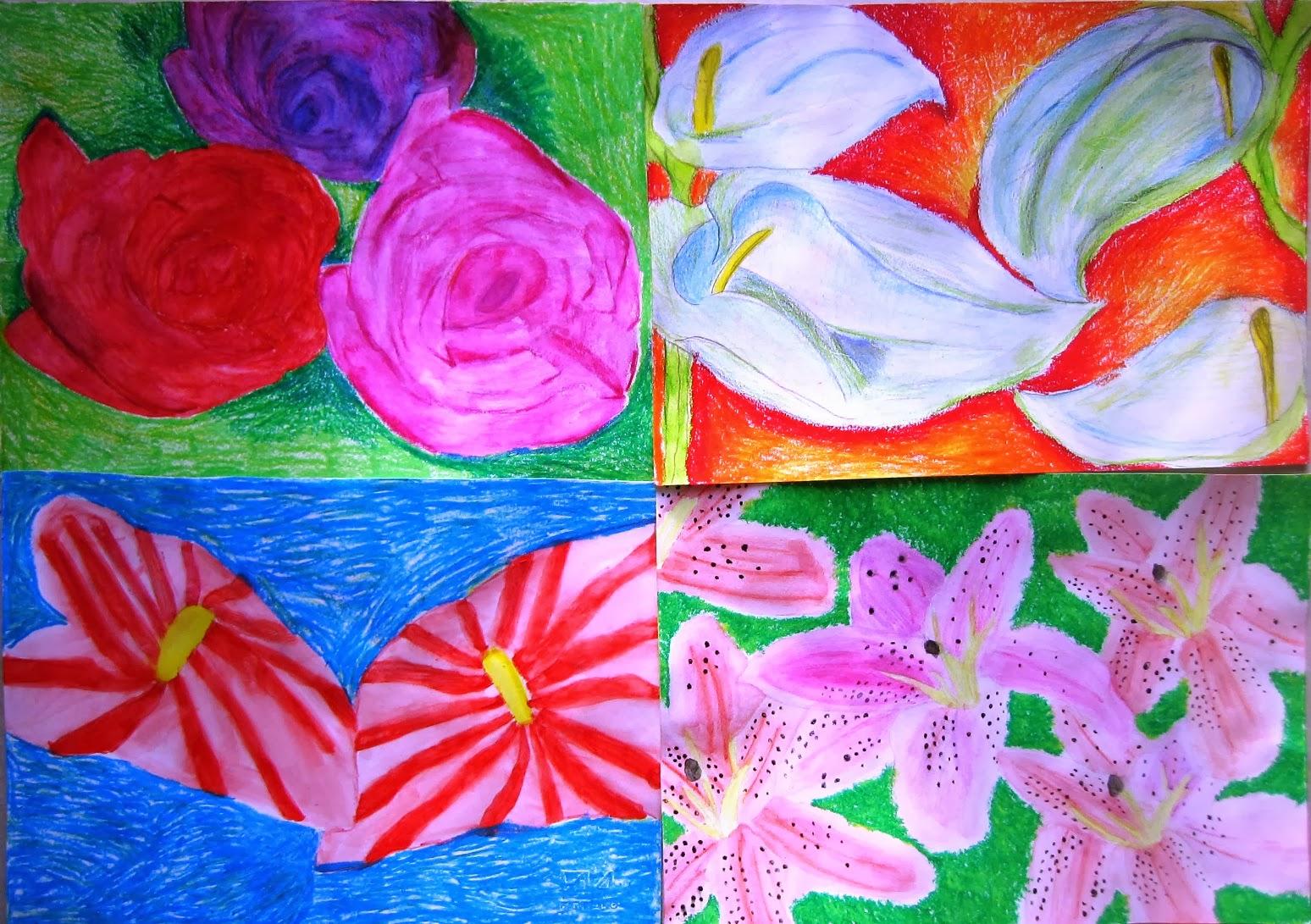 Immagin rti flowers for Georgia o keeffe opere