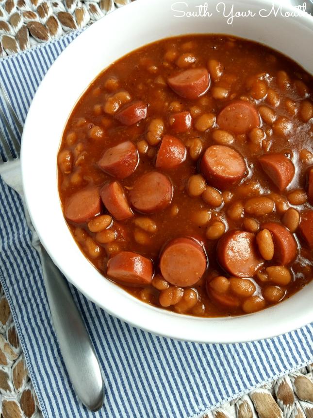 Hot Dog Pork And Beans Casserole