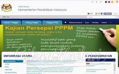 Laman Web KPM Pulih Kembali Beroperasi