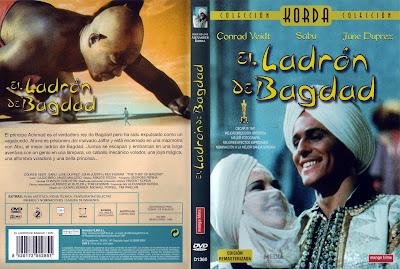 Cover, dvd, caratula: El Ladrón de Bagdad | 1940 | The Thief of Bagdad