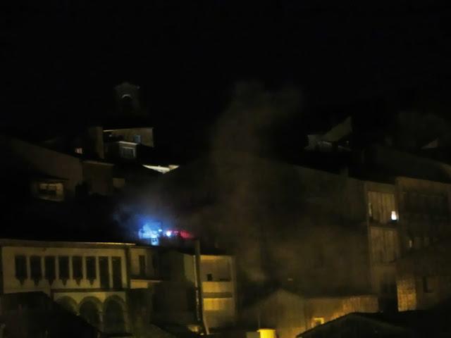 Incendio en vivienda de calle Las armas