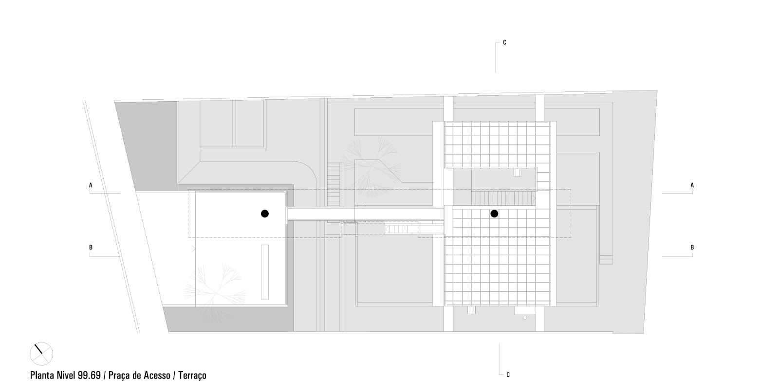 world of architecture unusual houses modern carapicuiba house by third floor floor plan