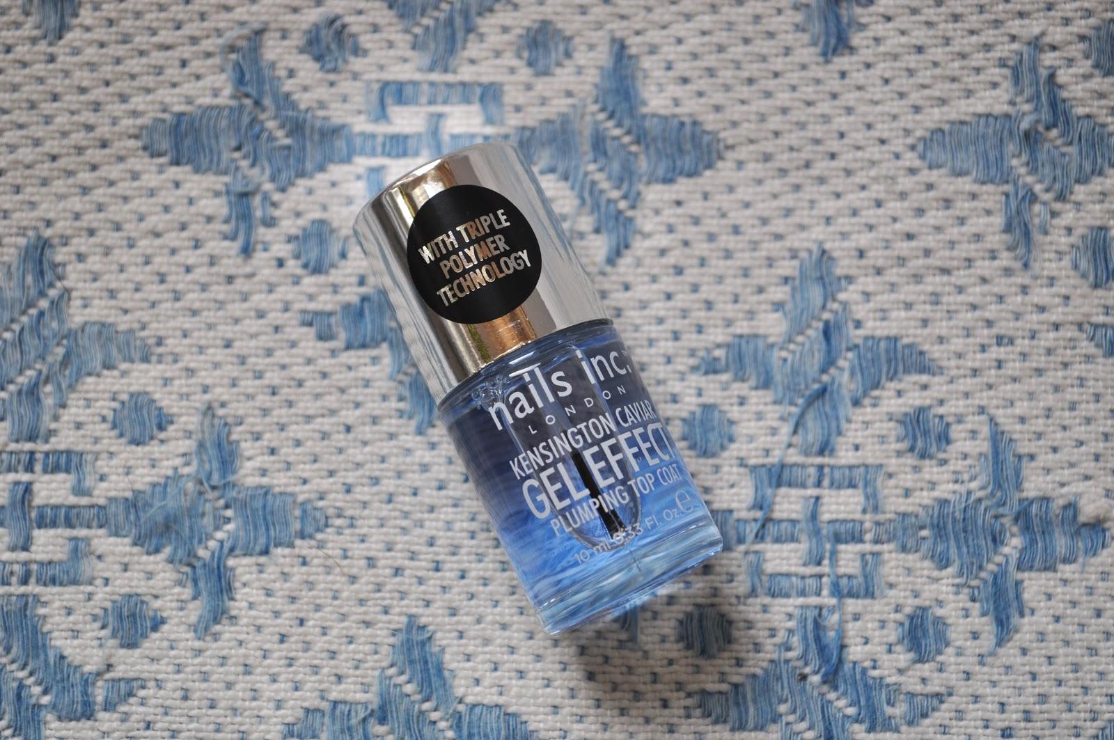 Nail Of The Day Nails Inc Kensington Caviar Gel Effect