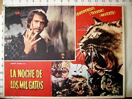 La noche de los mil gatos, un filme aterrador