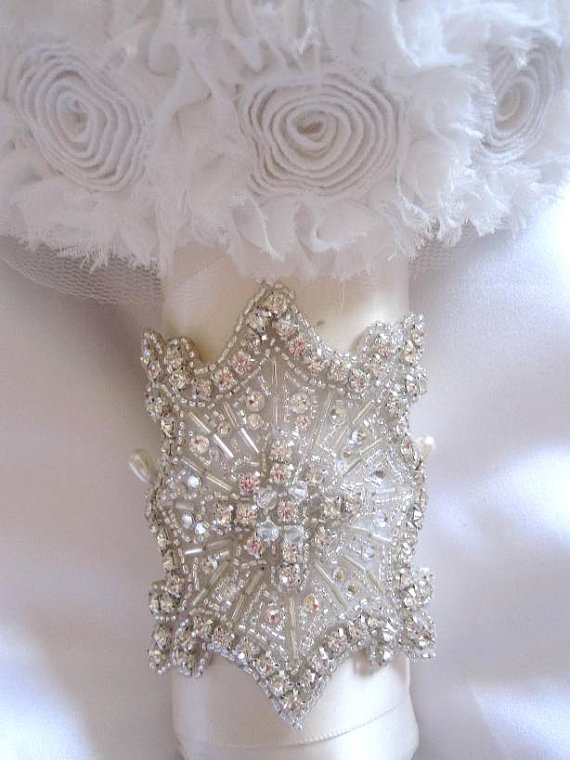 Bridal Flowers With Bling : Bobka baby and bridal more bouquets of bling