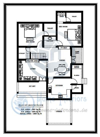 2635 Sq Ft Modern Double Floor Home Design Free Home
