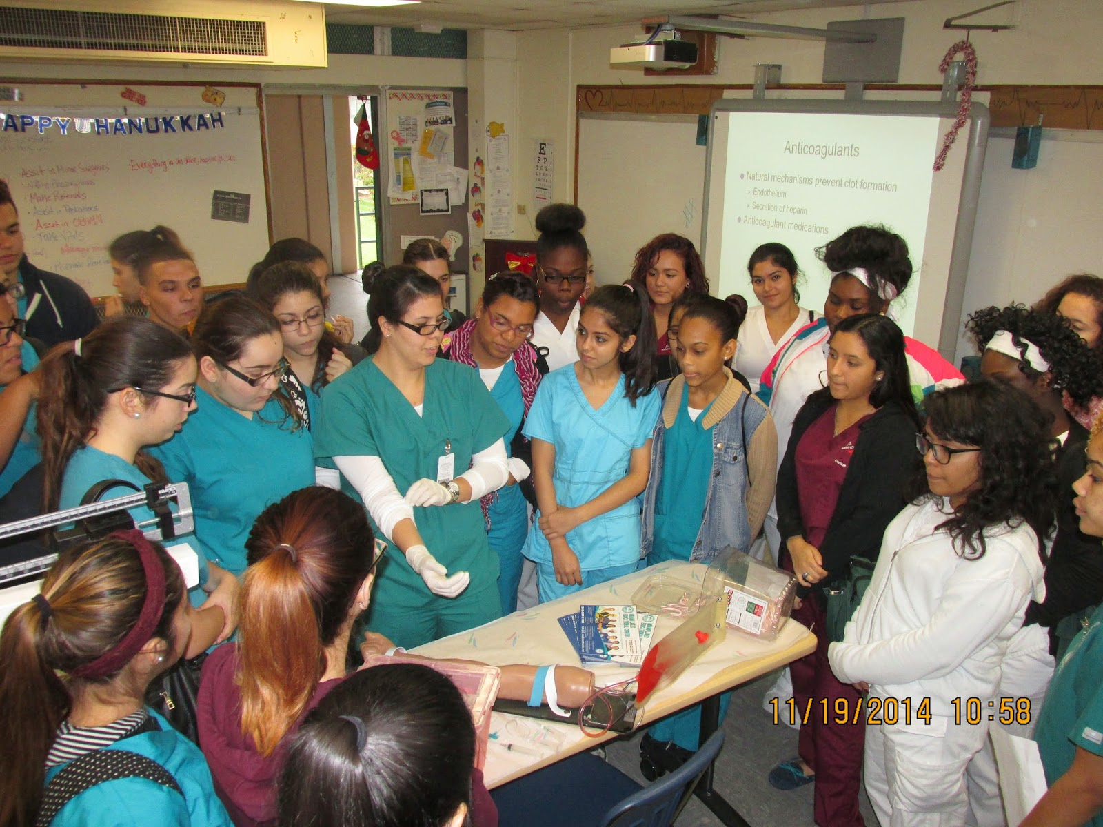 on november 19 the abc academy visited miami lakes tech new medical campus we got to see how the teachers and students interact with one another