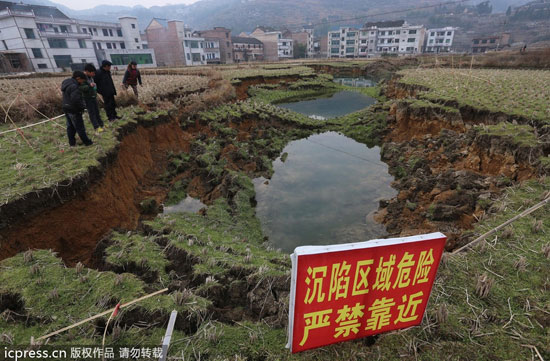 Peristiwa Aneh: Lubang Misterius Bermunculan Di China