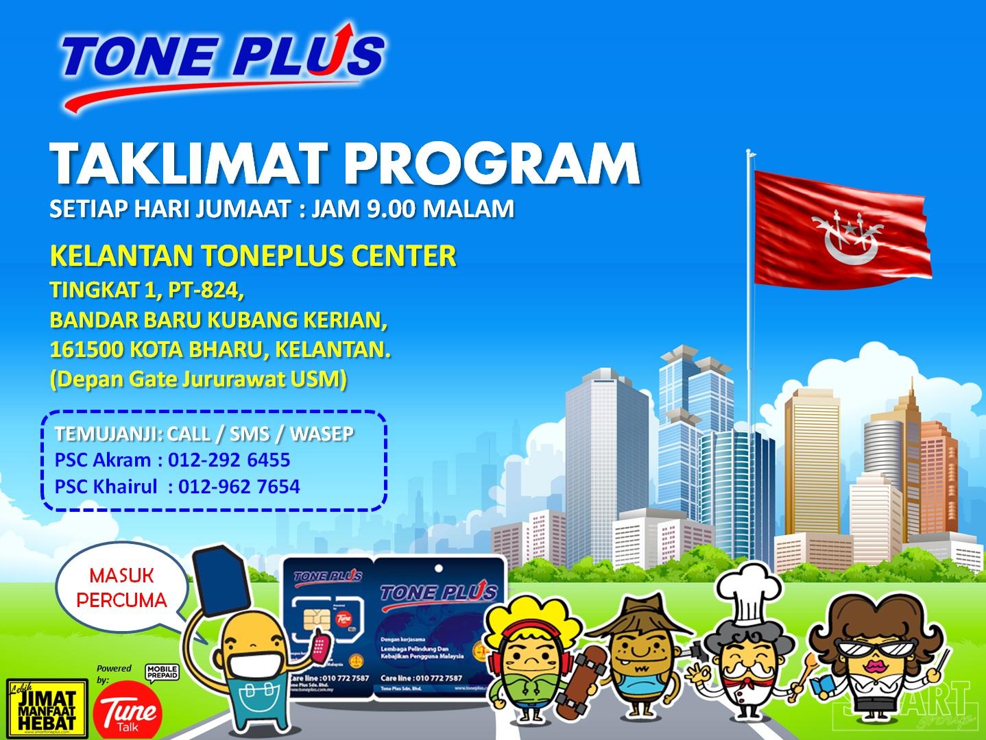 Tone Plus Preview Kelantan