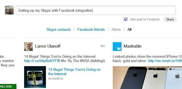 How To Synchronize Your Facebook Account With Skype?