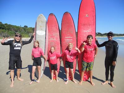 """""""Surfin' U.S.A""""....well, """"Surfin' Byron Bay"""", Aussie style ..."""