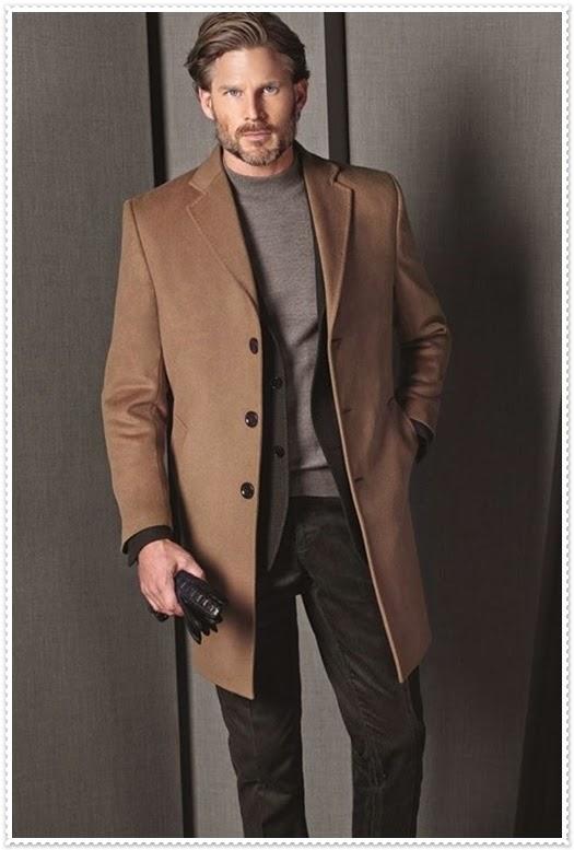 Hatemoğlu 2014/2015 Sonbahar Kış Erkek Kaban Modelleri