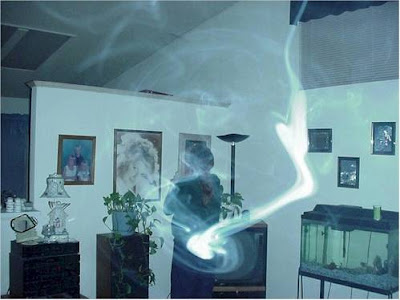Real Ghost Photo: The Icy Presence