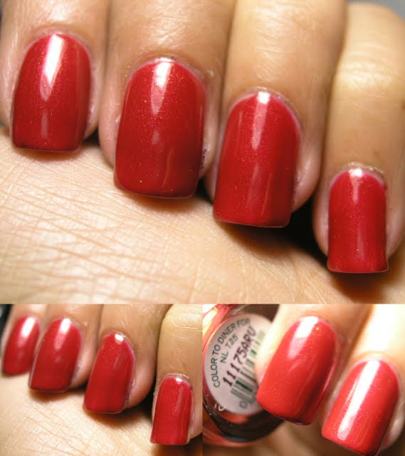 Opi Color To Diner For Chromatic Misadventure...