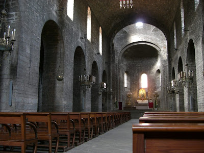 Church of the benedictine Ripoll monastery