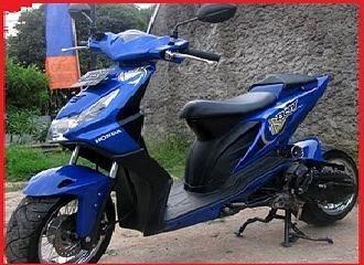 Modifikasi Honda Beat Trend Icon Lowride baru ~ gambar motor