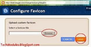 Mettre une icone à son URL pour Blog Blogspot [Gadget de Favicon]