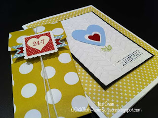 Valentine's Day card and note-card 2013 by Ida Chan