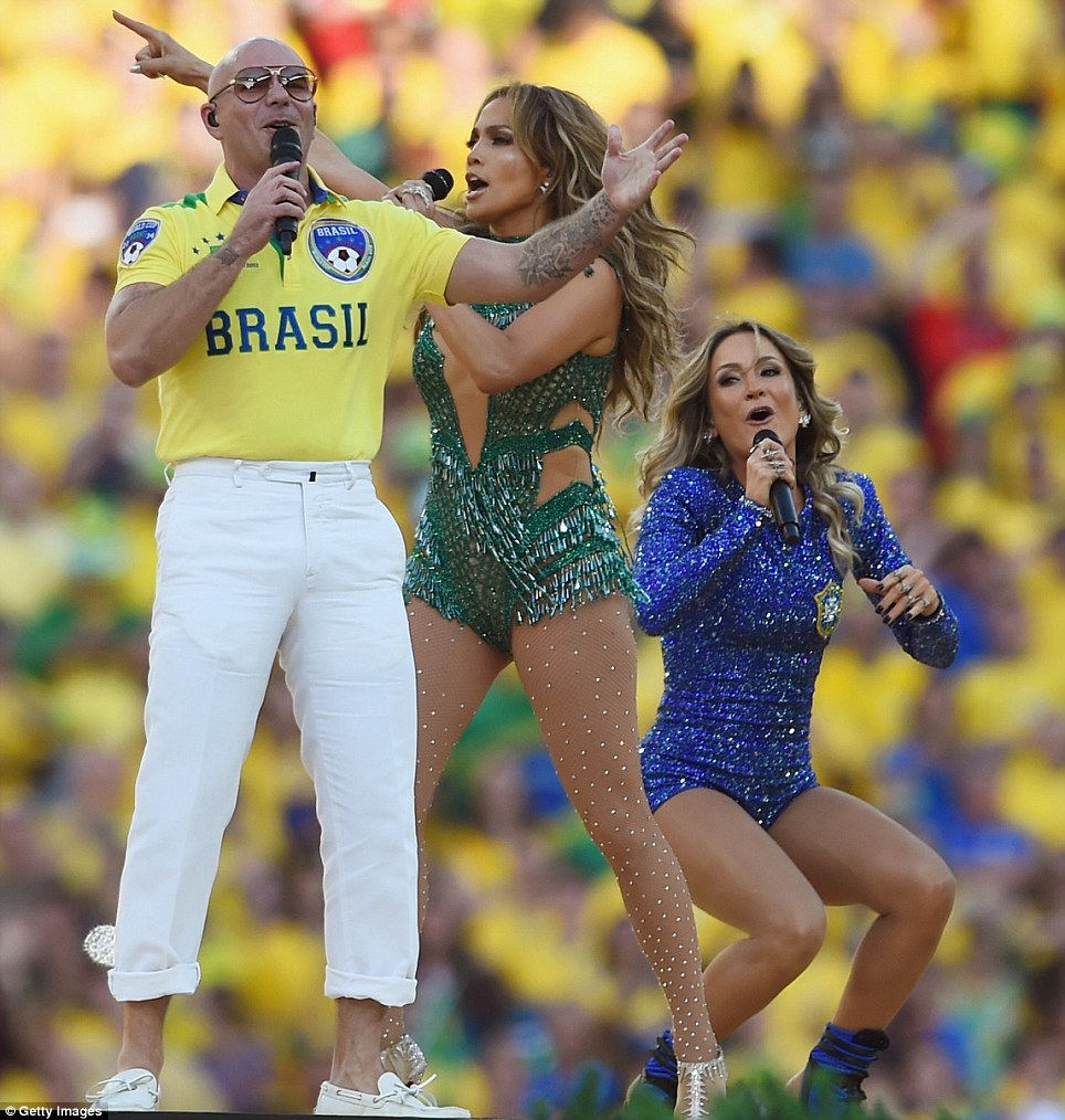 Pitbull JLo Leitte World Cup 2014