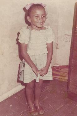 ibinabo fiberesima childhood