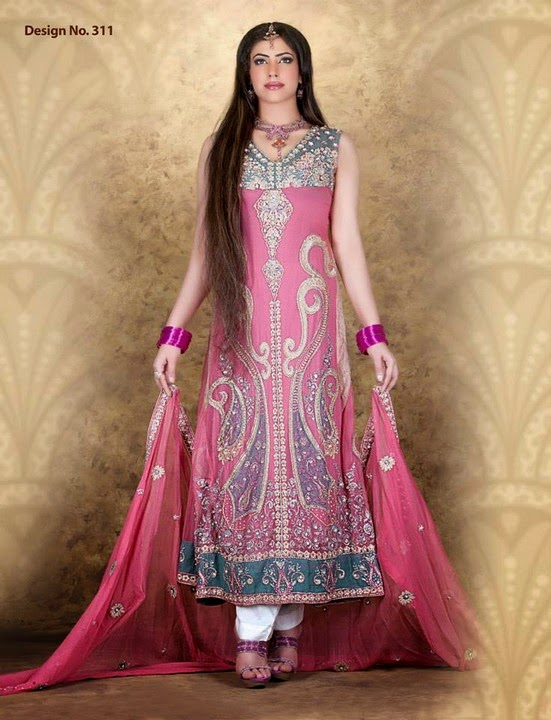 Kukoos Exclusive Party Wear Dresses 2014/2015   Pakistani Best Party ...