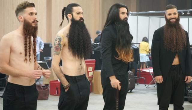 Barbas e barbudos na França!
