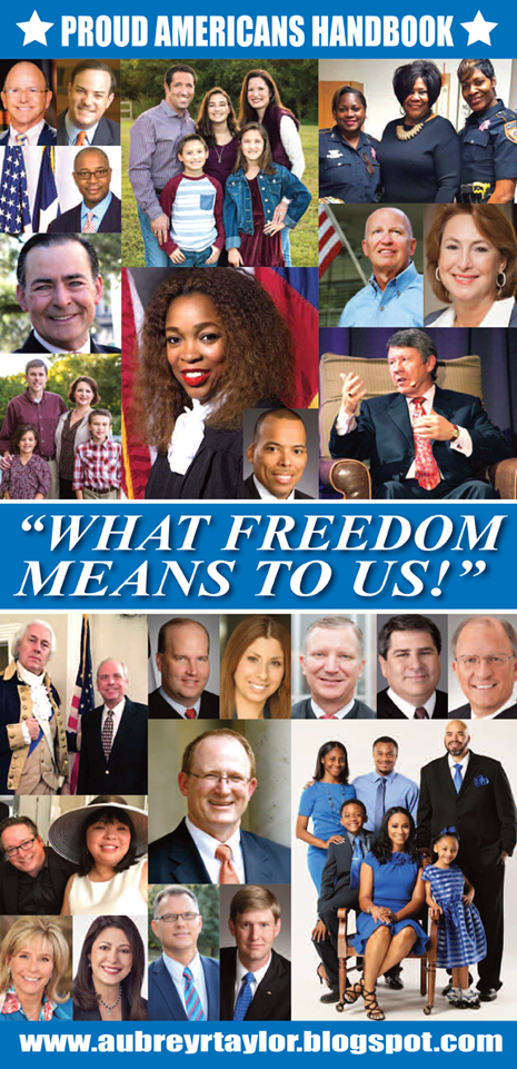 """WHAT FREEDOM MEANS TO US"" EDITION OF HOUSTON BUSINESS CONNECTIONS NEWSPAPER"