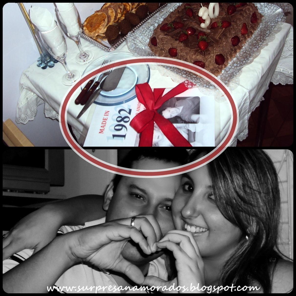 presente para aniversário do namorado