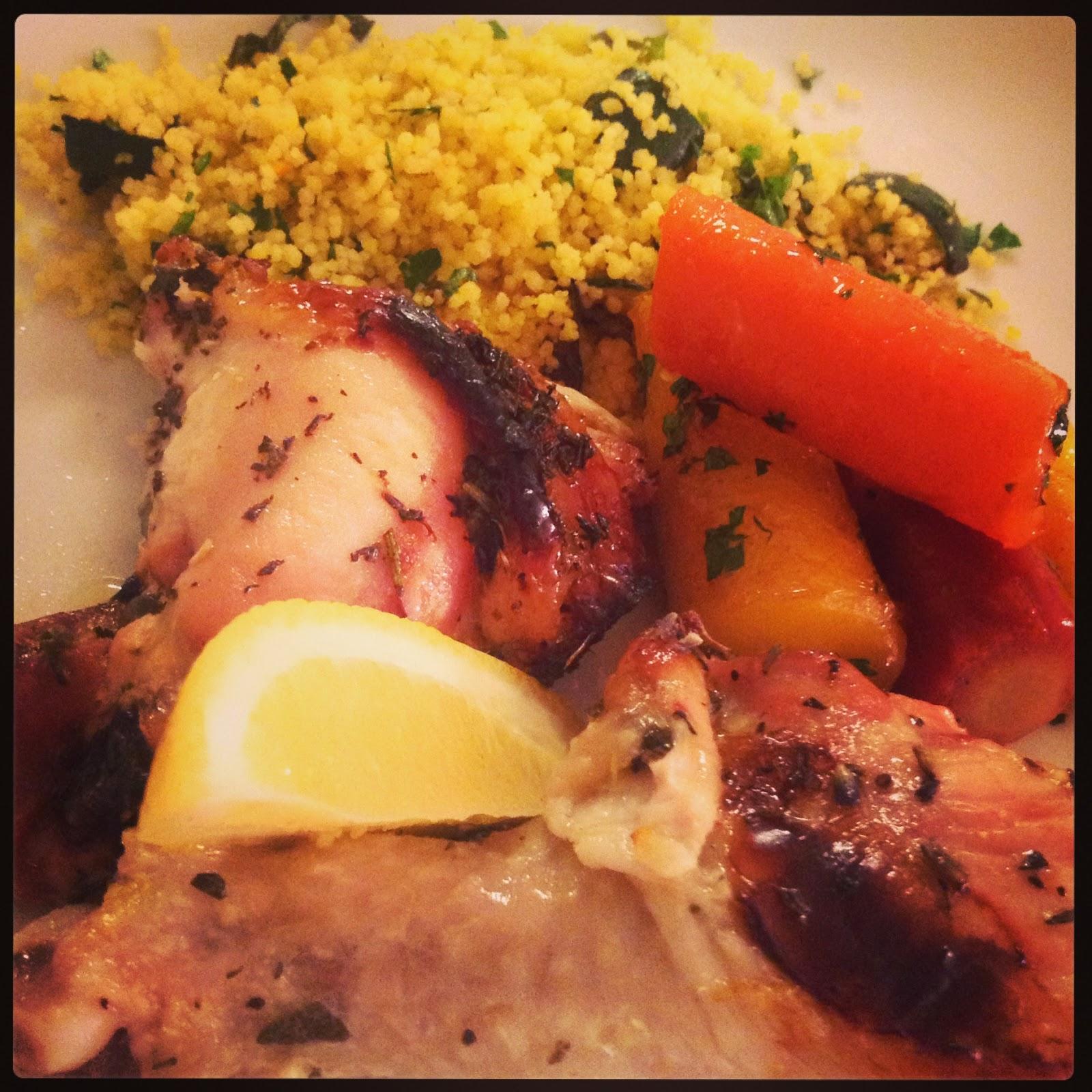 Miss Vic's Kitchen: Ladies Night - Peri Peri Chicken Pizza