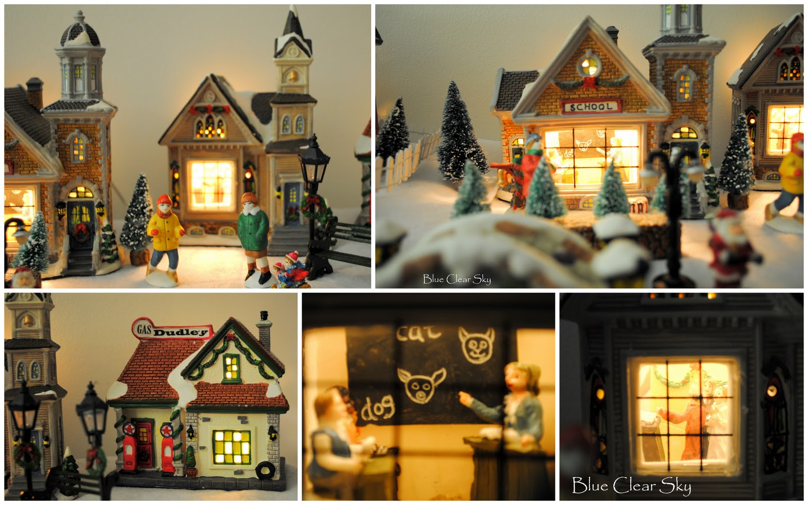 Rustic Maple Our Christmas Village 2011