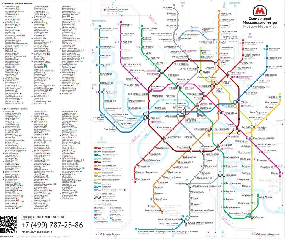 Арт лебедев схема метро