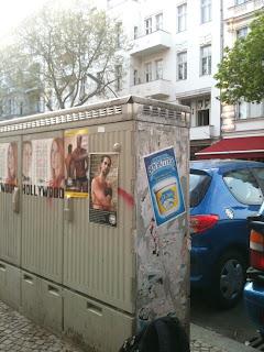 Guerilla Marketing in Berlin this Easter Weekend