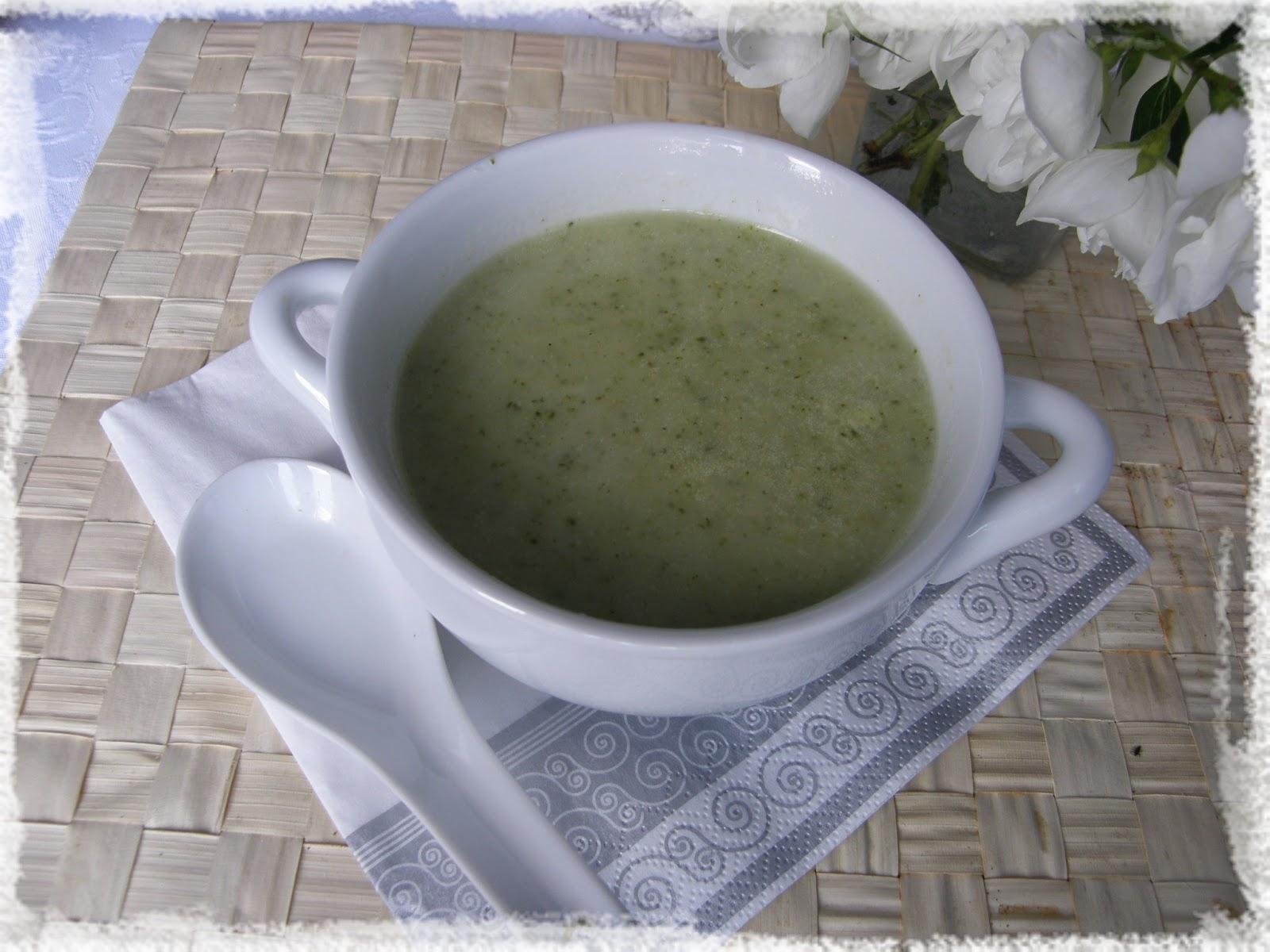recept na skvělou brokolicovou polévku