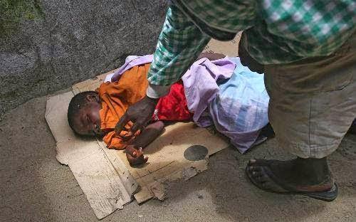 .Niño de diez años muerto
