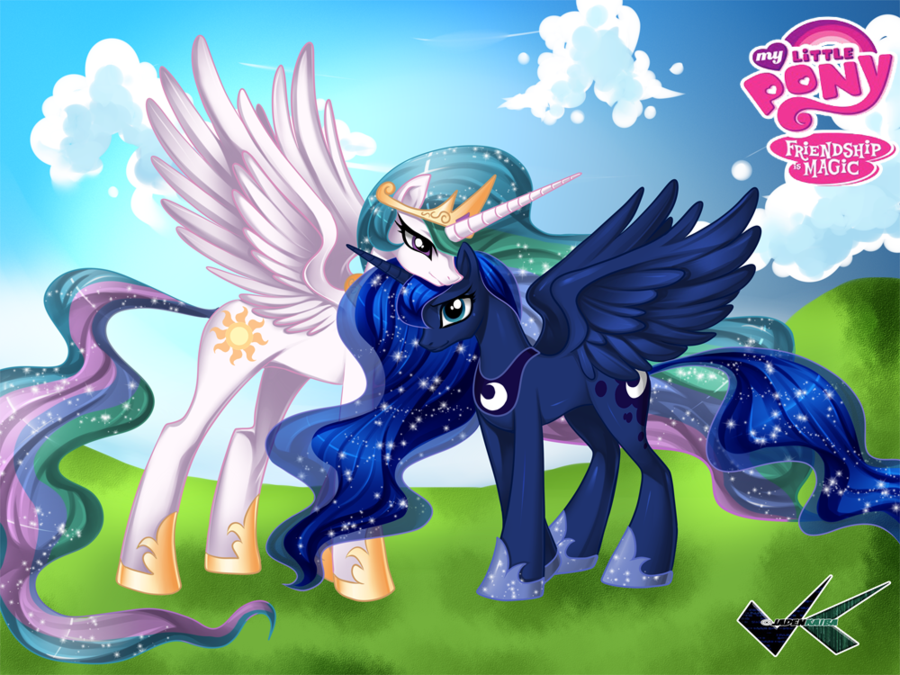 how to get princess luna in my little pony game
