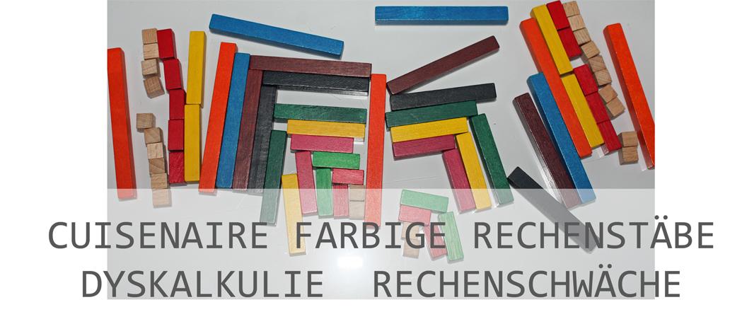 Cuisenaire - Farbige Rechenstäbchen
