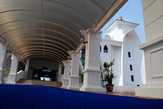 مسجد مضيق ملقا أجمل المساجد