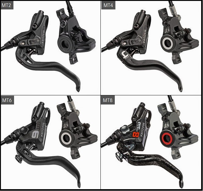 Magura MT dual piston range