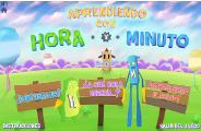 """APRENDE LAS HORAS CON """"HORA Y MINUTO"""""""