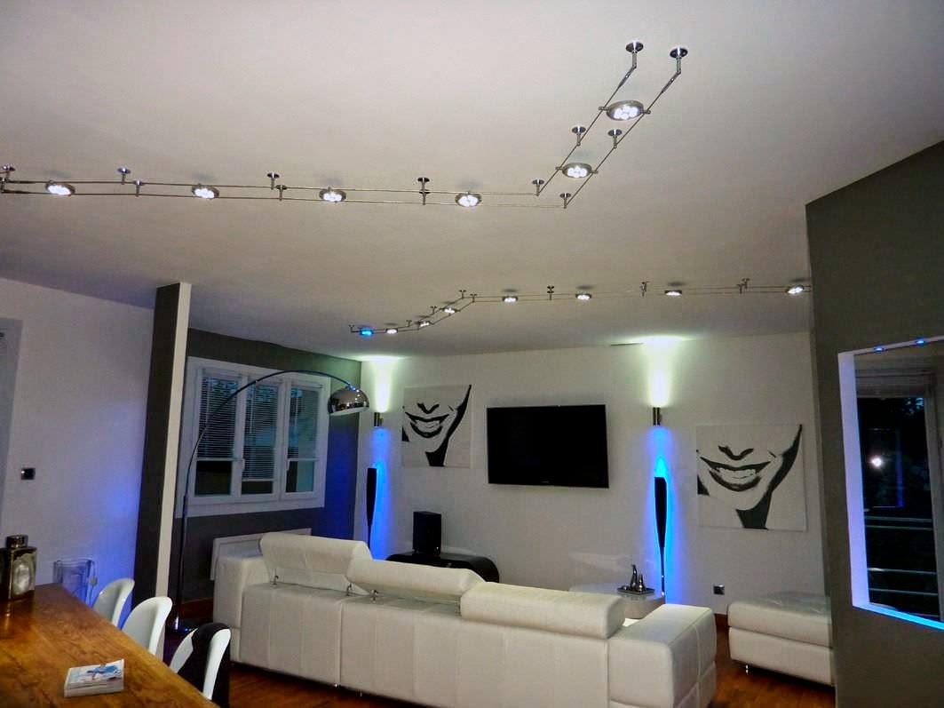 Eclairage salon meubles - Quel eclairage pour un salon ...