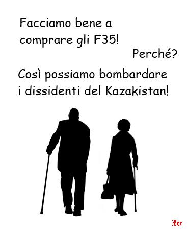 Kazakistan e F35