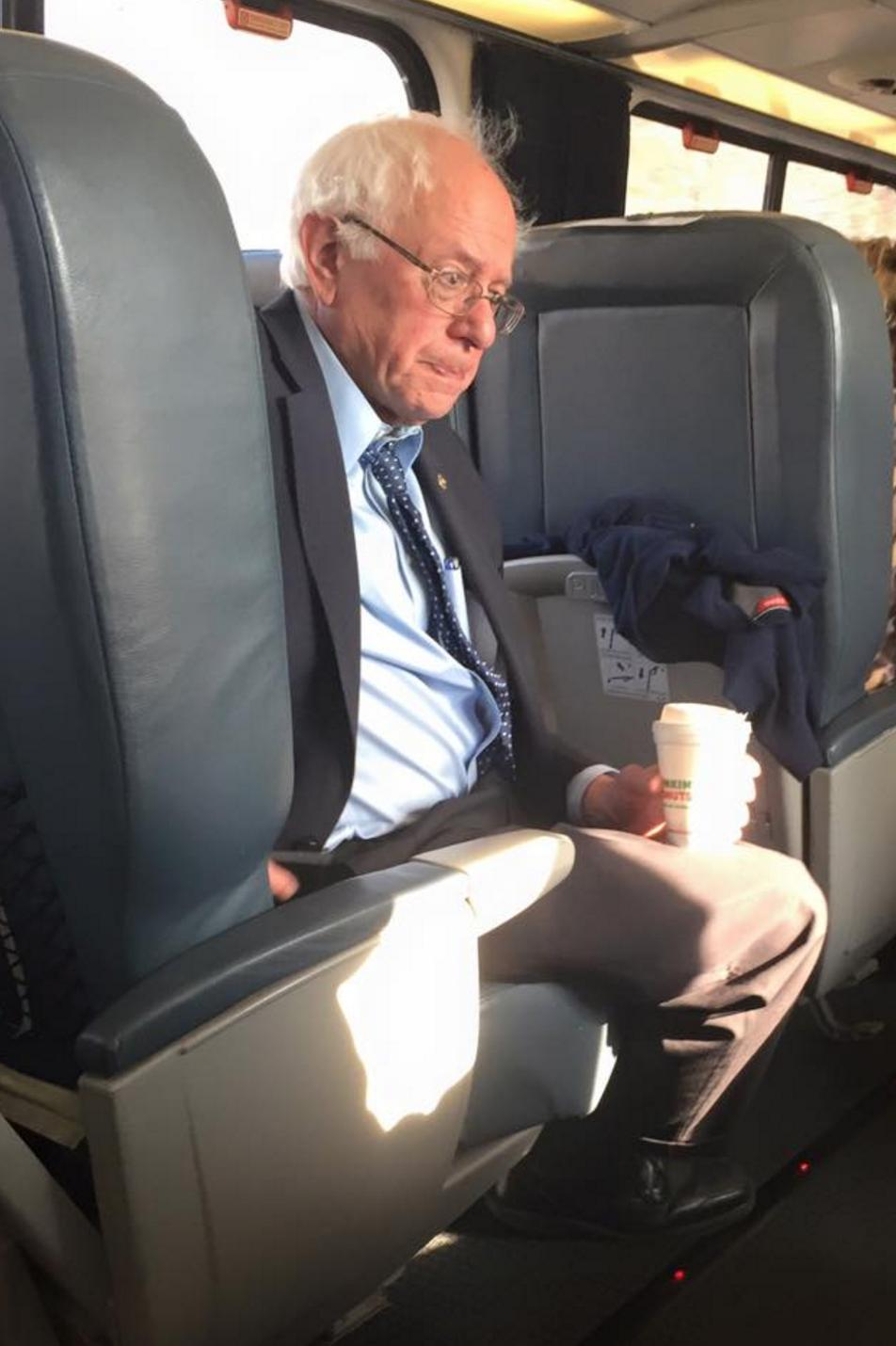 Likewise, it shoulda been hot enough to feel the Bern