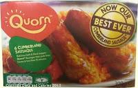 Quorn Cumberland sausages