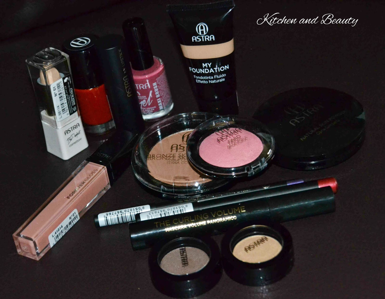 review cosmetici astra make up, prodotti viso e smalti!