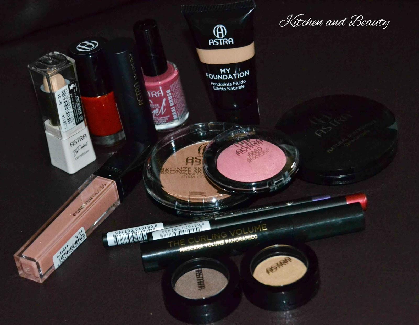review cosmetici astra make up, prodotti viso e smalti!