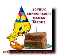 Poème joyeux anniversaire maman