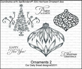 Our Daily Bread Designs - Stamps Ornaments 2