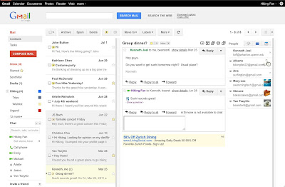 Activate Gmail Preview Pane